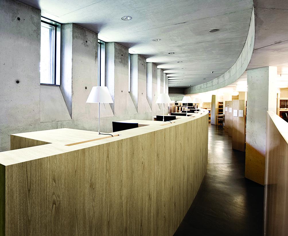 décoration bois espace accueil consilio design