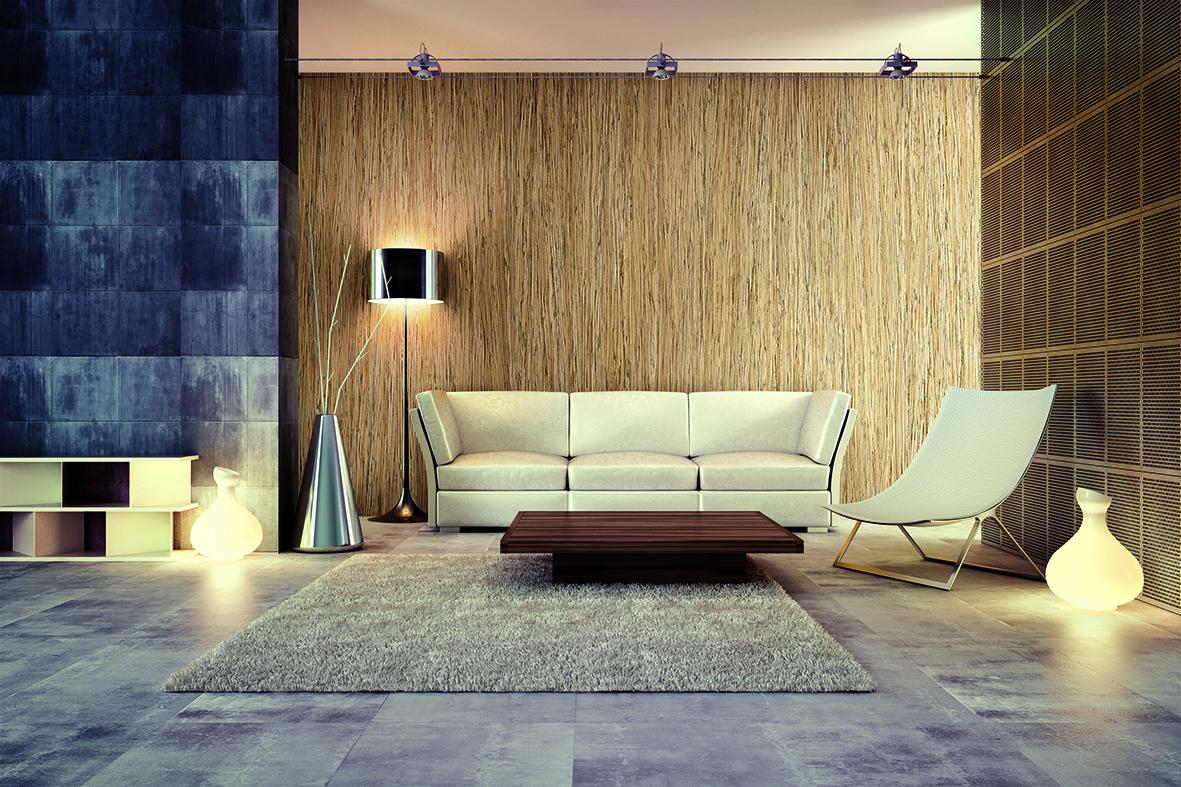 décoration bois espace salon consilio design