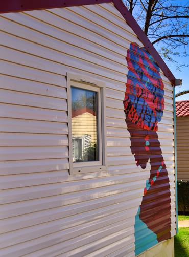 décoration mobil-home avec film ImproveTech
