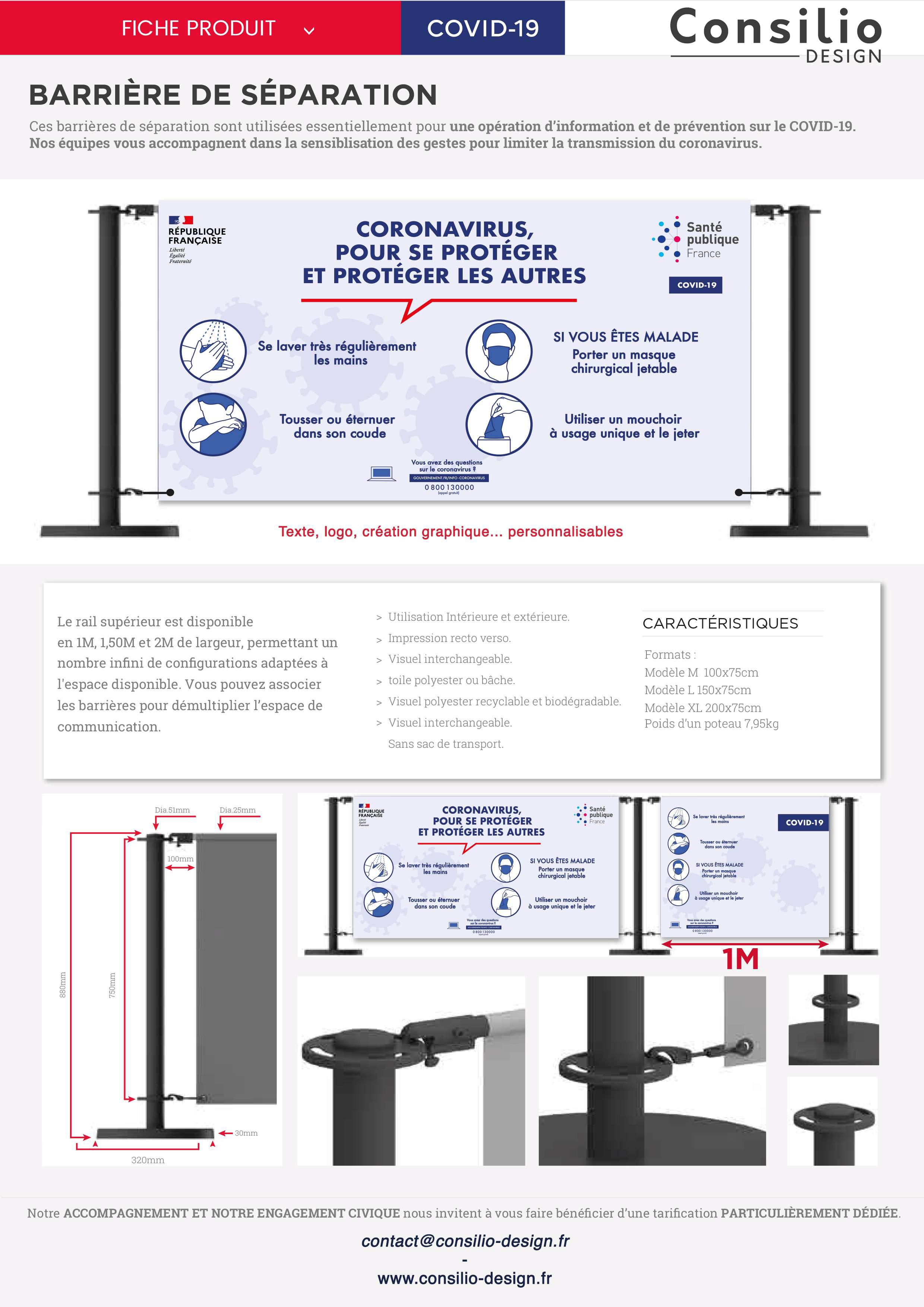 Consilio_Design_BARRIERE_Fiche_Produit_COVID19
